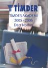 TİMDER Akademi - Eylül 2005