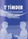TİMDER Akademi - Eylül 2007