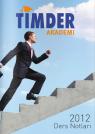 TİMDER Akademi - Eylül 2013