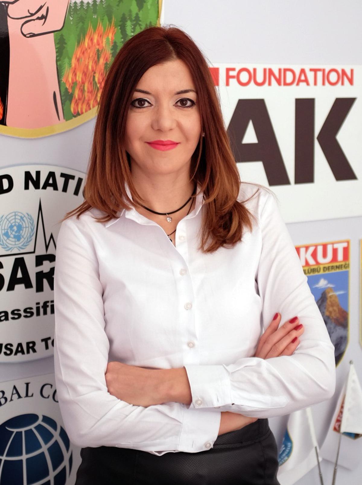 AKUT İstanbul Ekibi Gönüllüsü Çiğdem Tan